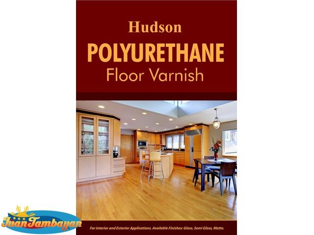 Hudson® Polyurethane Floor Varnish Topcoat