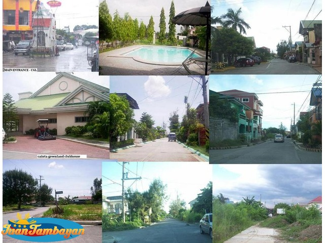 For sale lot in Cainta Greenland Executive Village
