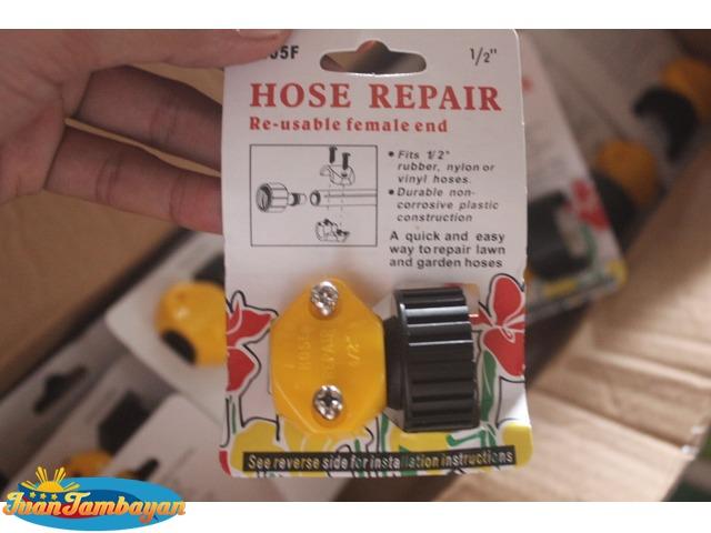 hose repair hose coupling garden hose