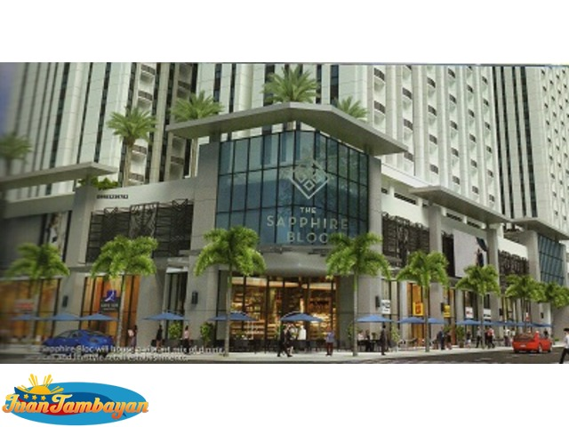 Condo in Ortigas Central Business District THE SAPPHIRE BLOC