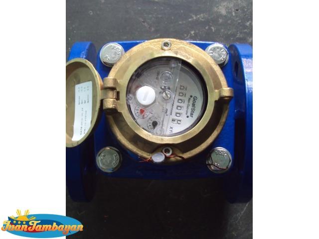 2 1/2  Goalstar Non-Clog Flow meter
