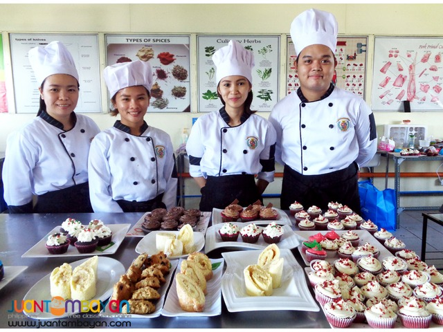 TESDA-Registered Bread and Pastry Production NC II in Bacoor Cavite