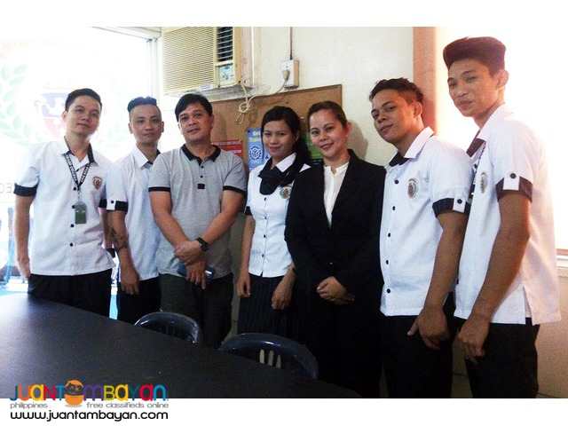 Food & Beverage Services NC II ( TESDA Short Course ) in Cavite