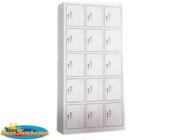 15 door locker cabinet