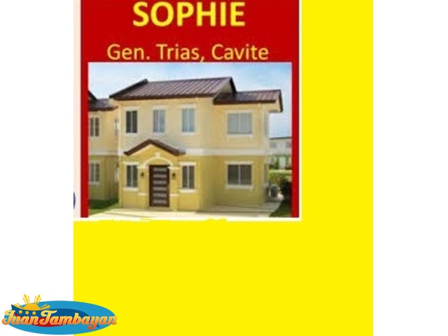 Sophie House Model at Lancaster Estates New City in Cavite