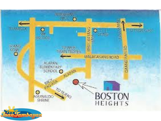 Affordable House and Lot at Boston Heights Toclong Kawit Cavite