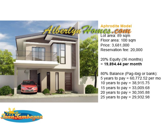 house and lot in talisay Boxhill single attached