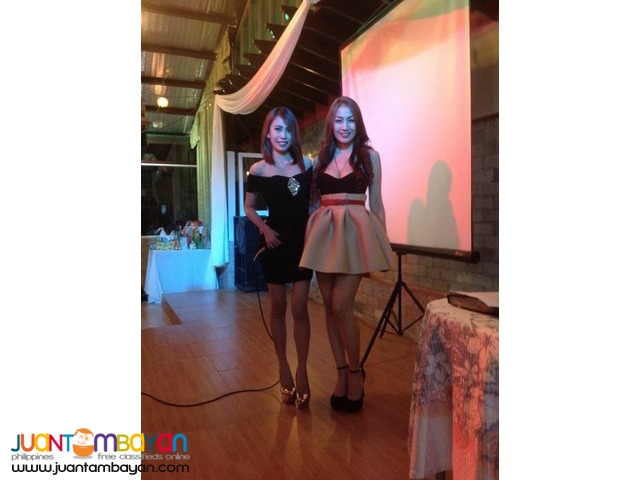 Beautiful Female Event Host Emcee Singer For Hire