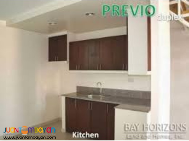 Affordable house and lot Duplex Previo model House