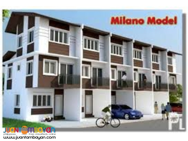 Milano Townhouse Model at La Terraza Villas by Charles Builders