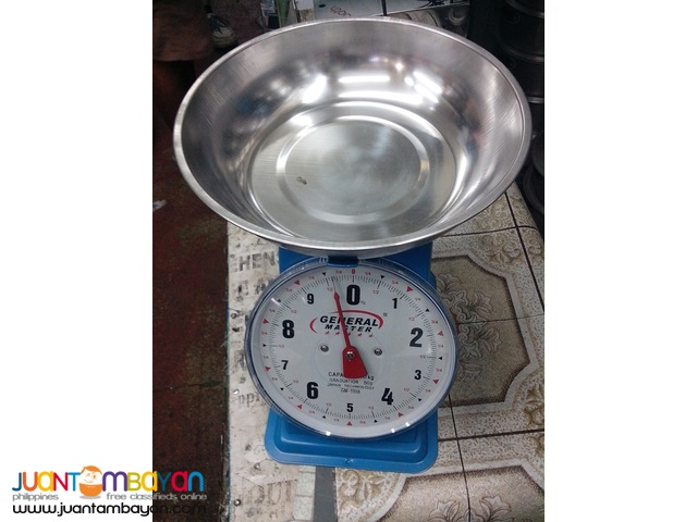 Weighing Scale Manual or Digital