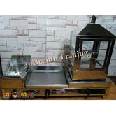 3 in 1 burger griddle deep fryer and steamer