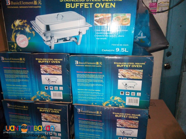 Chafing Dish Full size 2 burner (Basic Element)