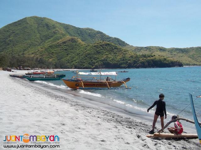 Budget Nipa, Pundaquit beach resort Anawangin Pagkage