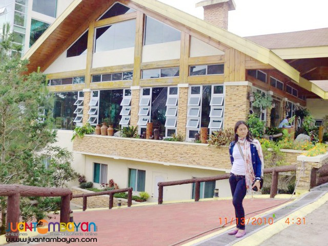 Baguio Package C, 3 Days 2 Nights with Tree Top Adventure Baguio