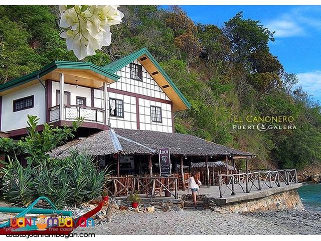 Puerto Galera Package El Canonero Beach Resort, Puerto Galera