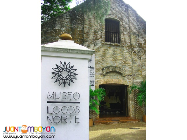 Ilocos Tour package,1 night Laoag and 1 night Pagudpud with Tour 1