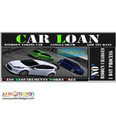 Car loan pawn Or cr without taking the car