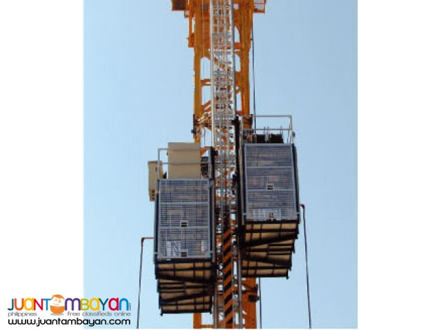 CONSTRUCTION ELEVATOR for rent