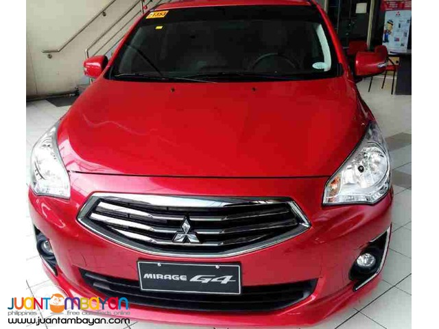 30k all-in d.p Mitsubishi mirage g4 glx automatic upgraded 2016