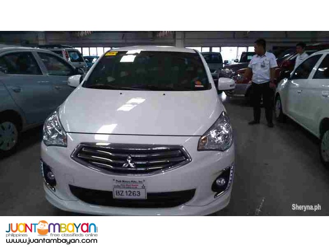 45k all-in d.p Mitsubishi mirage g4 glx upgraded 2017