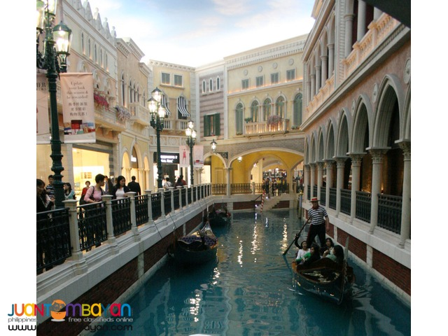 Macau Tour Package -4 Star Hotel  3 Days 2 Nights