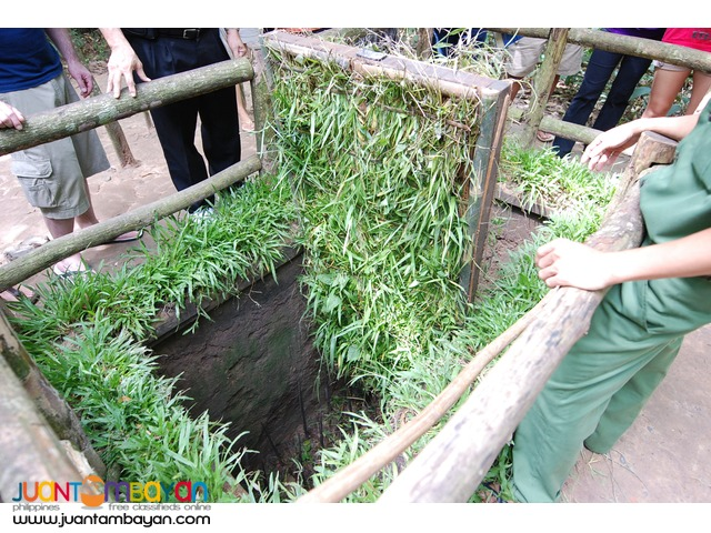 Vietnam tourist spots, 1/2 Day Tour to Cu Chi Tunnels Tour