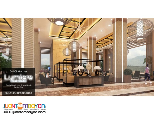 Lumiere Residences Pre Selling High Rise in Pasig