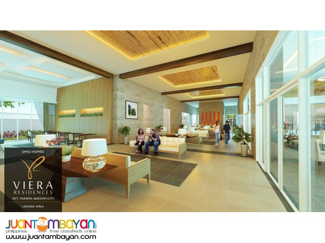 Affordable Condo in Scout Tuazon Viera Residences