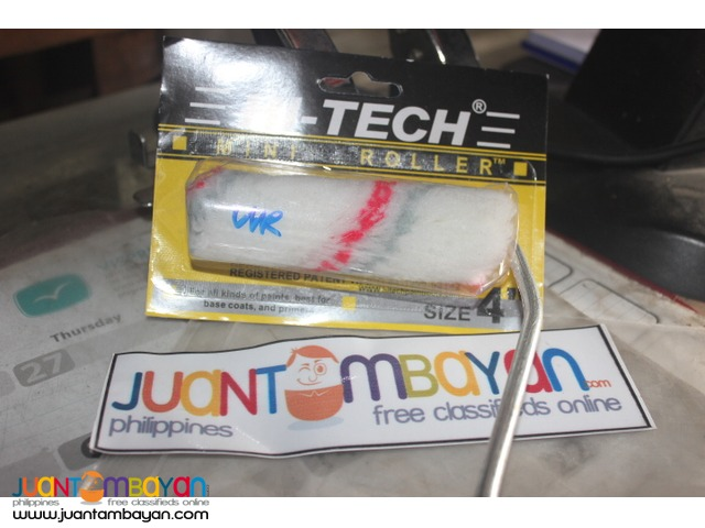 Hitech Roller & Trays - hi-tech painting tools