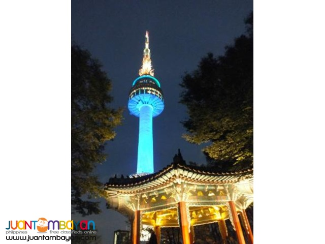 South Korea Tourist Spots, Special Afternoon Tour with N Seoul Tower