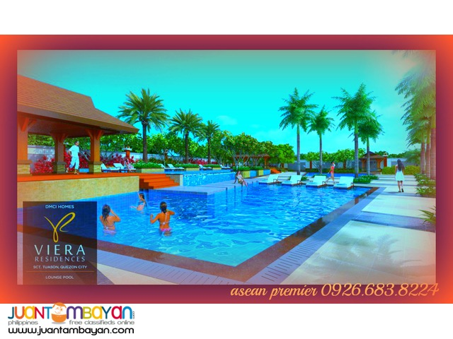 Viera Residences Condo in Scout Tuazon Pre Selling