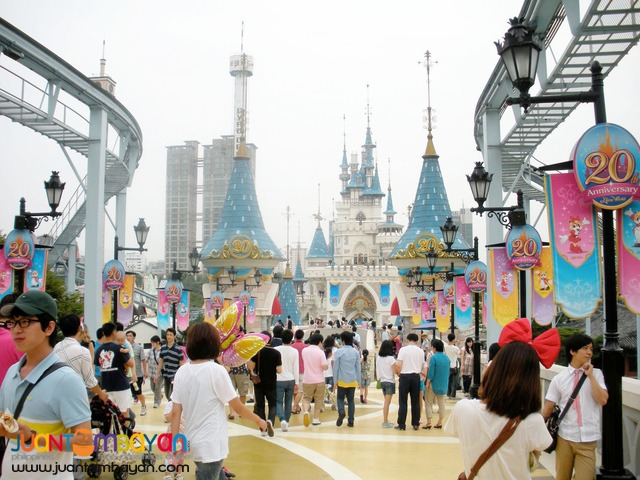 South Korea Tourist Spots, Lotte World Theme Park