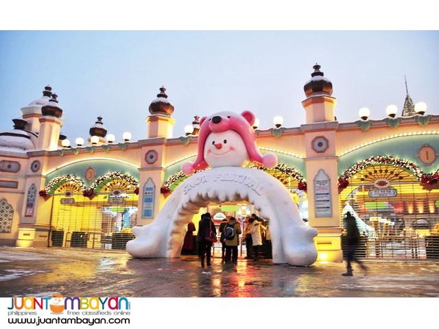 Seoul Korea Tourist spots, Everland Theme Park, Full Day Tour