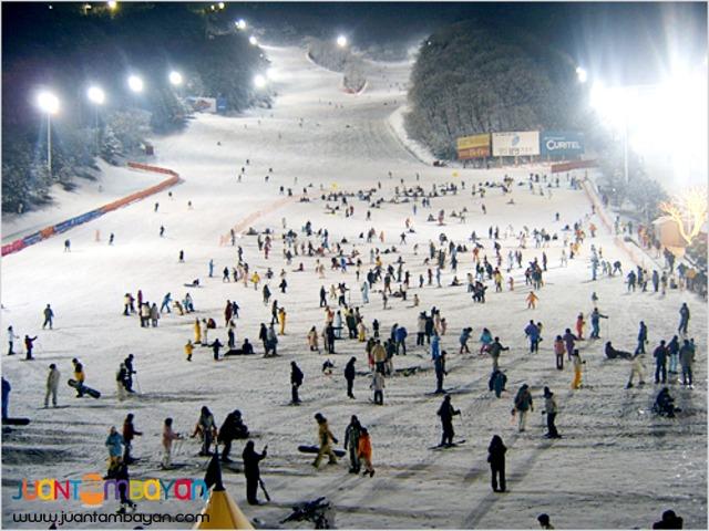 Seoul Korea Tourist spots, Korea Ski Tour