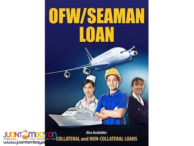 OFW AND SEAMANS LOAN
