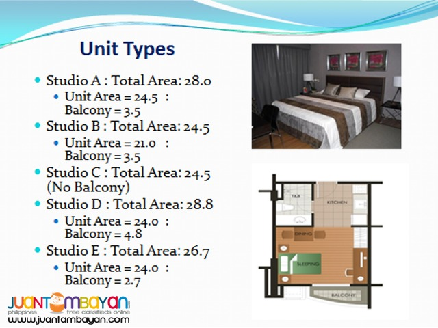 East Bel Air Residences Condo near Sta. Lucia Mall