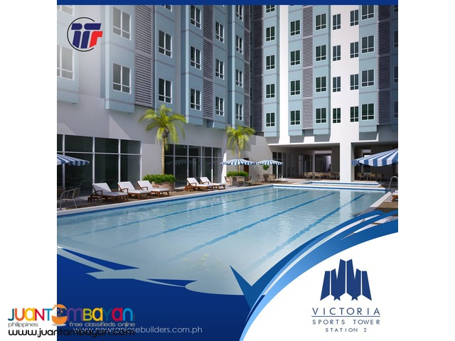 Condominium Unit near MRT Kamuning Station in Quezon City
