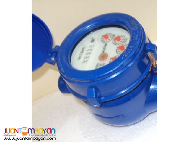 Brand New 1/2″ Water Meter (W) Plastic -Blue