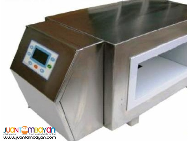 Metal detector for  Food, Medical, Textile,other applications