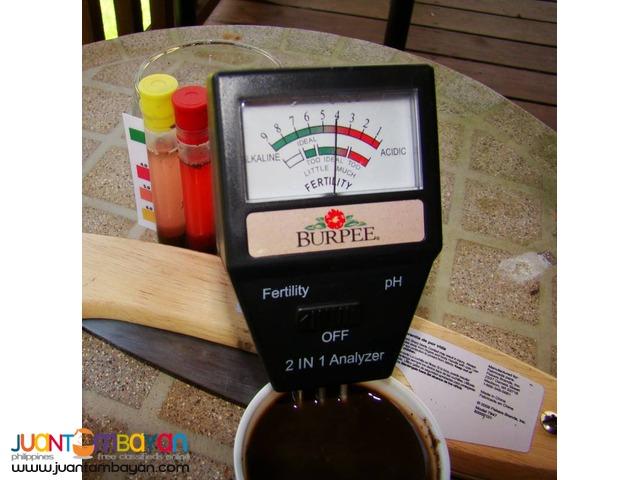 2 in 1 Soil Fertility pH Meter