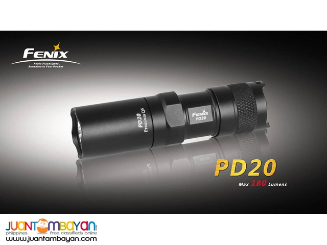 Fenix PD20 LED Flashlight 180 Lumens 4mode function Twist