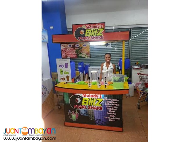 Black Pearl Shake Business (Business Kit, with Cart or Kiosk)
