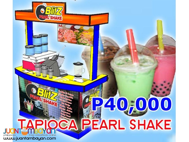 Pearl Shake Business (Black Pearl Tapioca)