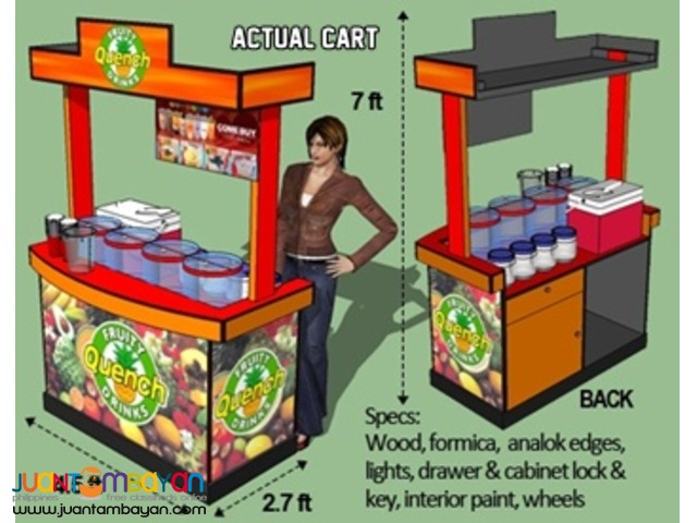 Palamig (Ice Cold Drink) Business Kit or Food Cart