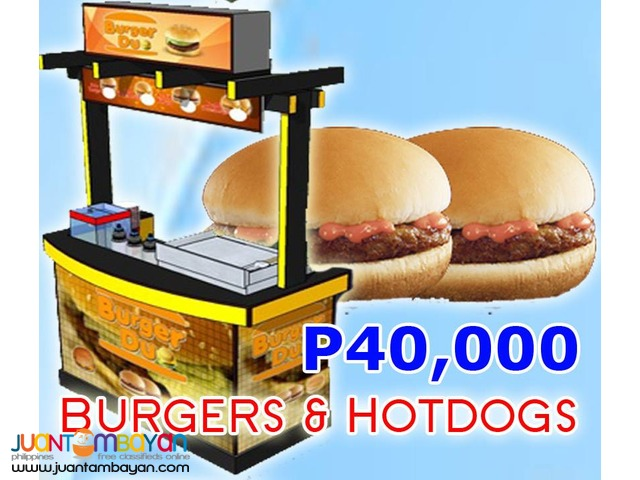 Burger Food Business (Buy 1 Take 1) Kit or Food Cart