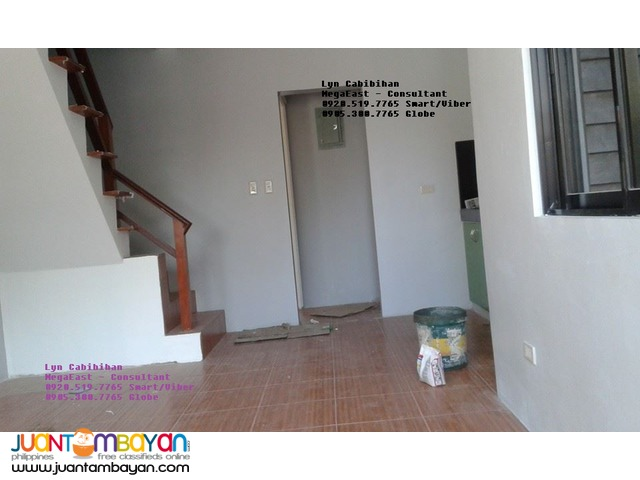 San Mateo Rizal House and Lot tru PagIbig Loan (near Quezon City)