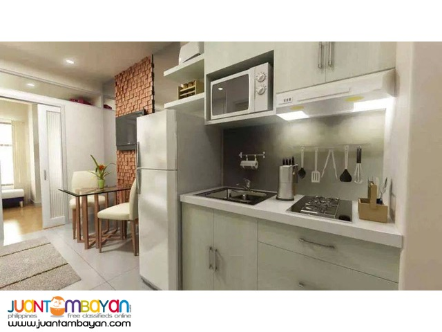 Affordable Flat Type Condo Unit near GMA7 in Q.C
