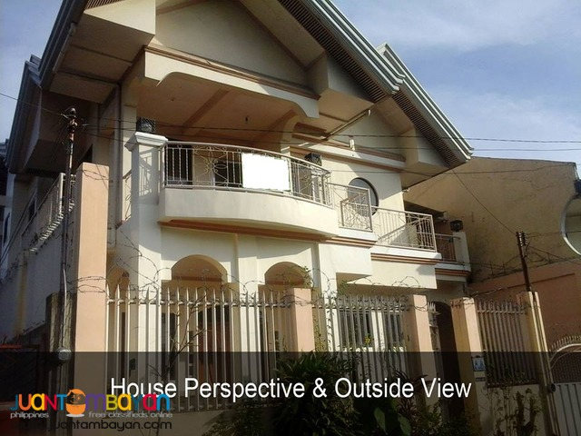 Beautiful 2 Storey House and Lot in Dona Vicenta, Bajada
