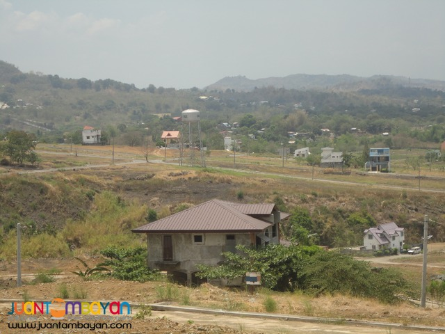 Lot for sale Over looking Greenridge Binangonan Flood free